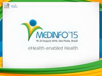 Medinfo2015 - Sao Paulo, Brazil. www.medinfo2015.org